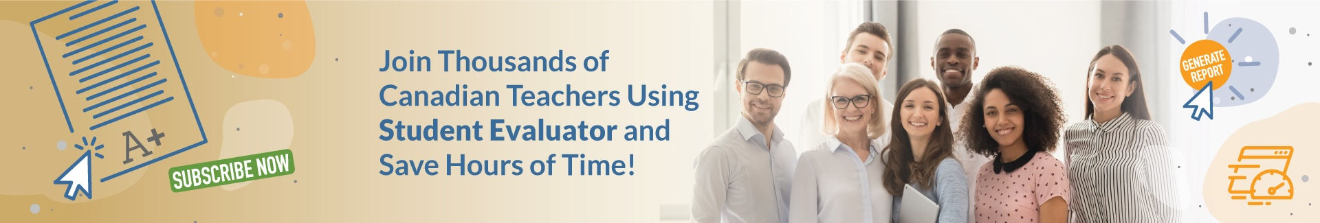 Join Thousands of Canadian Teachers Using Student Evaluator and Save Hours of Time
